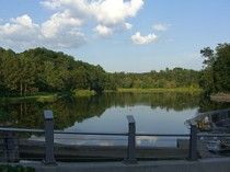 Beebe Lake from East Footbridge